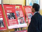 国連ハビタットパネル展示と募金活動
